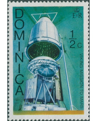 Dominica 1976 SG533 ½c Viking spacecraft MNH