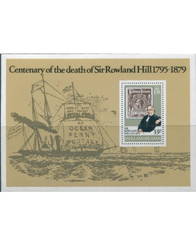 Falkland Islands 1979 SG367 Sir Rowland Hill MS MNH