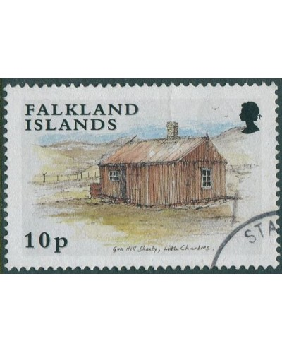 Falkland Islands 2003 SG947 10p Gun Hill Shanty FU