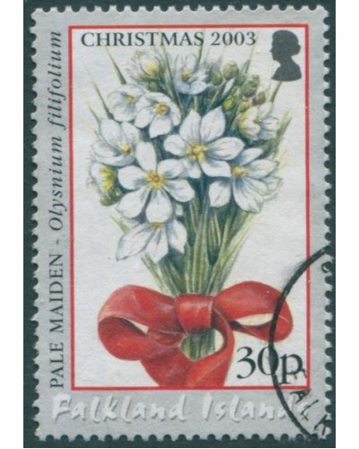 Falkland Islands 2003 SG977 30c Christmas flower FU