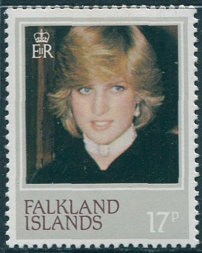 Falkland Islands 1982 SG427 17p Princess of Wales birthday MNH