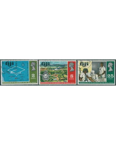 Fiji 1969 SG414-416 South Pacific University Inauguration set FU