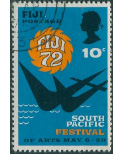 Fiji 1972 SG457 10c Festival of Arts FU