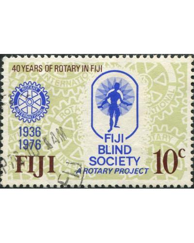 Fiji 1976 SG530 10c Rotary FU