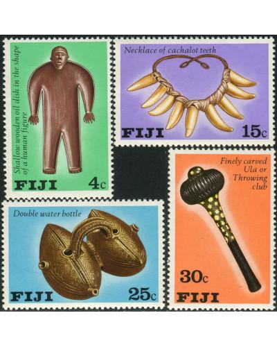 Fiji 1978 SG556-559 Artifacts set MNH
