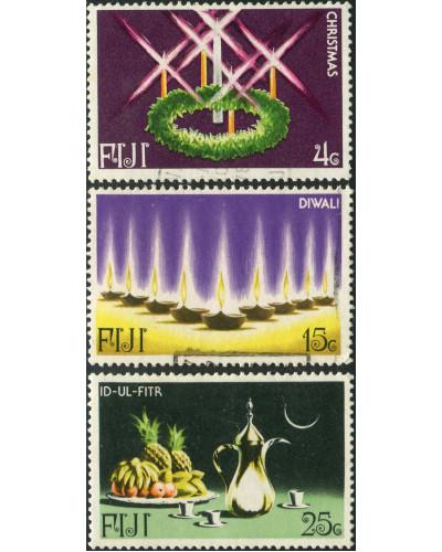 Fiji 1978 SG560-562 Festivals part set FU