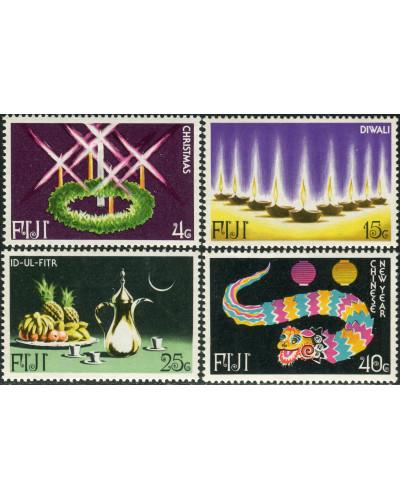 Fiji 1978 SG560-563 Festivals set MNH