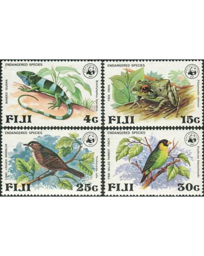 Fiji 1979 SG564-567 Endangered Wildlife set MLH