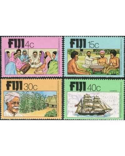 Fiji 1979 SG568-571 Indians Arrival set MNH
