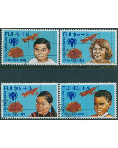 Fiji 1979 SG576-579 International Year of Child set FU