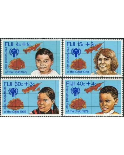 Fiji 1979 SG576-579 International Year of Child set MNH