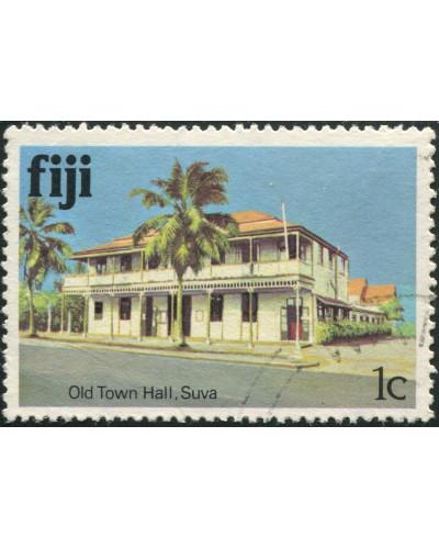 Fiji 1979 SG580A 1c Old Town Hall FU