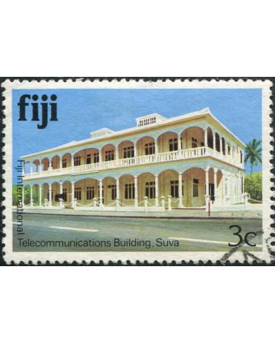 Fiji 1979 SG582A 3c Telecom Building FU