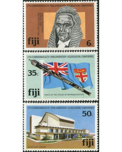 Fiji 1981 SG620-622 CPA Conference set MNH