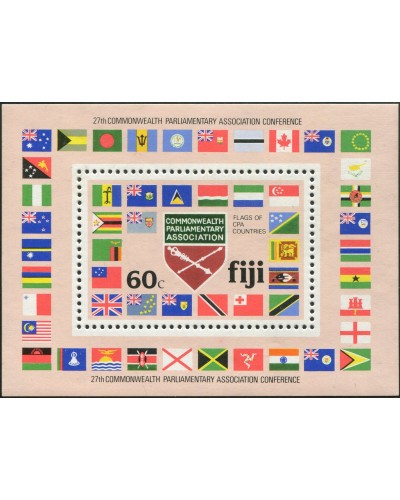 Fiji 1981 SG623 60c CPA Conference MS MNH