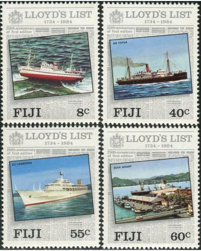 Fiji 1984 SG675-678 Lloyd's List set MNH