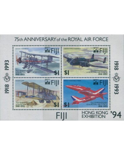 Fiji 1994 SG888 Royal Air Force Hong Kong Exhibition MS MNH