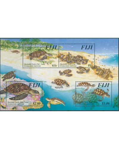 Fiji 1997 SG981 Hawksbill Turtle MS MNH