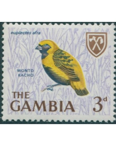 Gambia 1966 SG237 3d Golden Bishop MNH