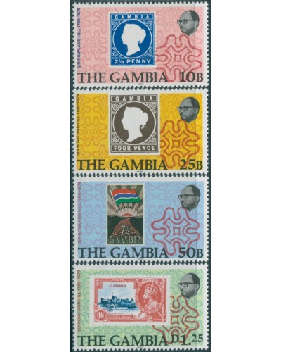 Gambia 1979 SG416-419 Sir Rowland Hill MNH