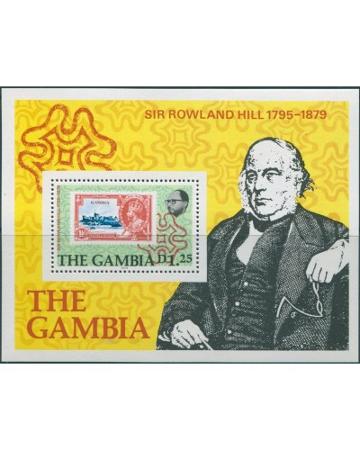 Gambia 1979 SG420 Sir Rowland Hill MS MNH