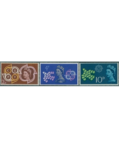 Great Britain 1961 SG626-628 QEII Postal and Telecommunications set MNH