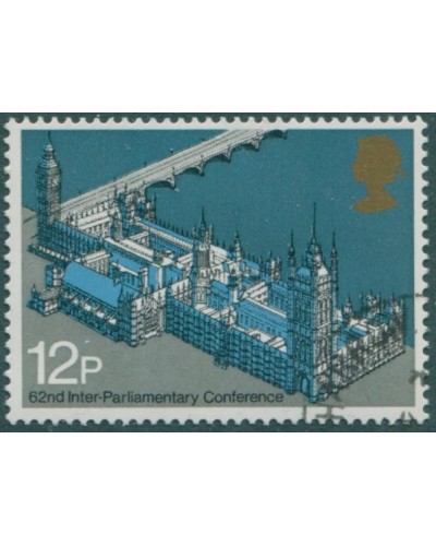 Great Britain 1975 SG988 12p QEII Westminster Palace FU