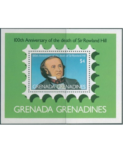 Grenada Grenadines 1979 SG336 Sir Rowland Hill MS MNH