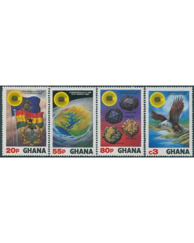 Ghana 1983 SG1019-1022 Commonwealth Day set MNH