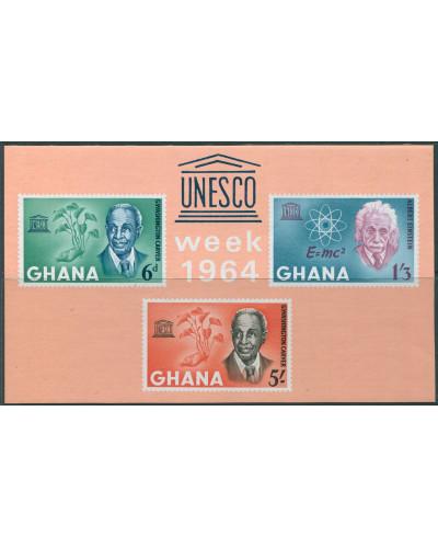 Ghana 1964 SG356a UNESCO MS MNH