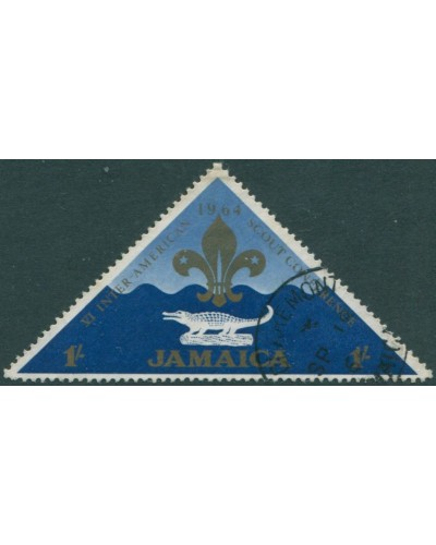 Jamaica 1964 SG235 1/- Scout Conference FU
