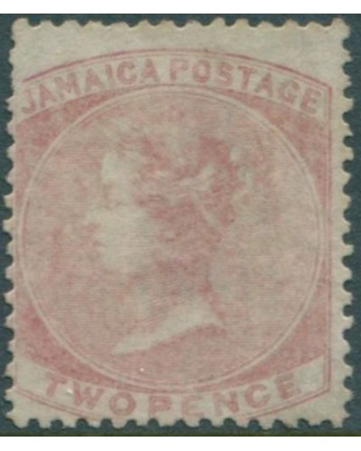 Jamaica 1860 SG9 2d red QV MNG