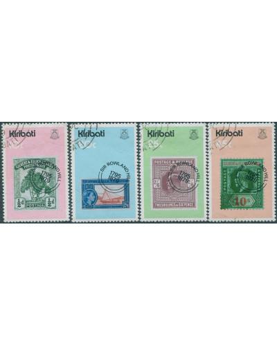 Kiribati 1979 SG100-103 Sir Rowland Hill set FU