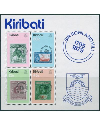 Kiribati 1979 SG104 Sir Rowland Hill MS MNH