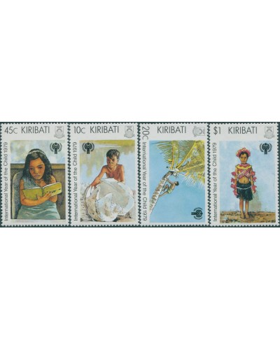 Kiribati 1979 SG105-108 IYC set MNH