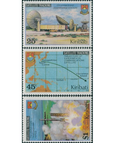 Kiribati 1980 SG109-111 Satellite set MNH