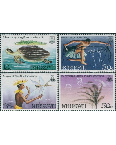 Kiribati 1984 SG228-231 Legends set MNH