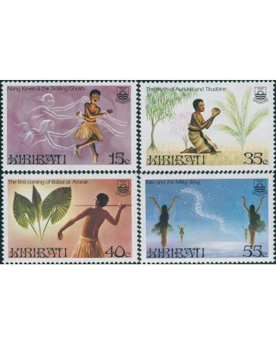 Kiribati 1985 SG245-248 Legends set MNH