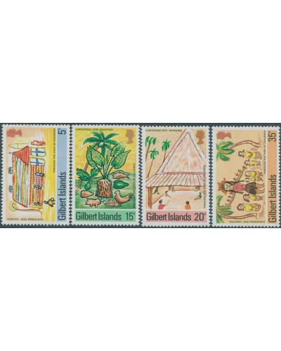 Gilbert Islands 1976 SG39-42 Christmas set MNH