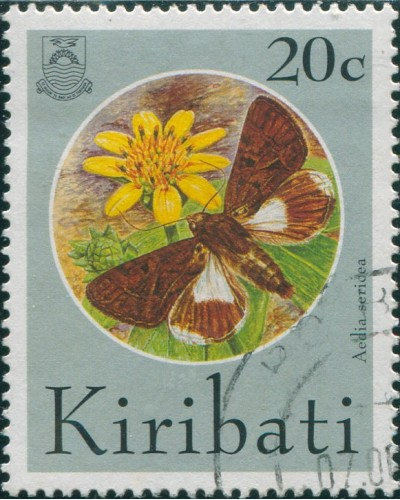 Kiribati 1994 SG447 20c Butterflies and Moths FU