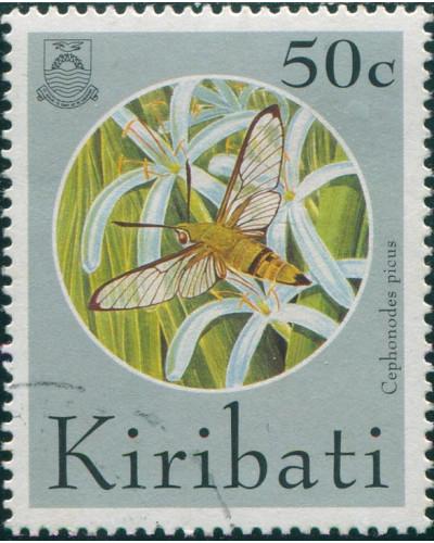 Kiribati 1994 SG453 50c Butterflies and Moths FU