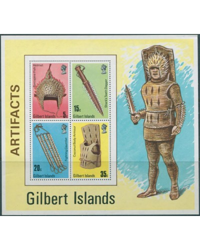 Gilbert Islands 1976 SG47 Artefacts MS MNH