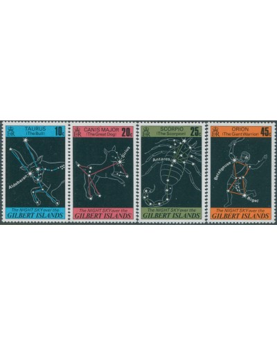 Gilbert Islands 1978 SG64-67 Night Sky set MNH