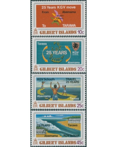 Gilbert Islands 1978 SG71-74 Tarawa School set MNH
