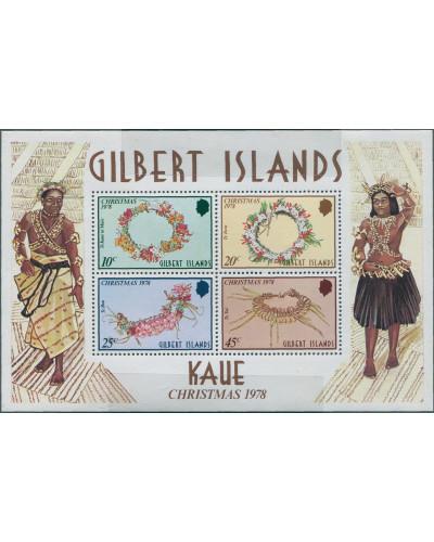 Gilbert Islands 1978 SG79 Christmas MS MNH