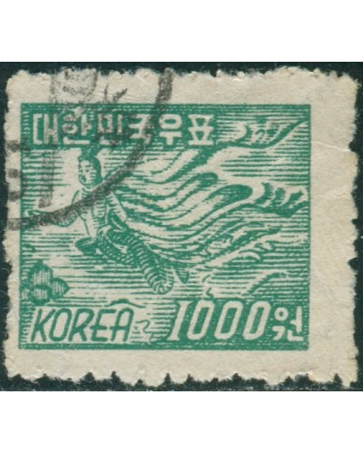 Korea South 1952 SG186 1000w green Fairy FU