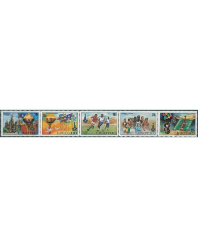 Lesotho 1980 SG392-396 Olympic Games set MNH