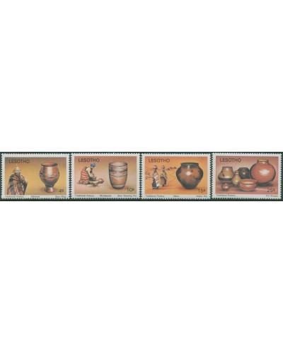 Lesotho 1980 SG418-421 Pottery set MNH