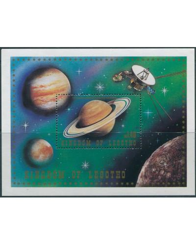 Lesotho 1981 SG436 Saturn MS MNH