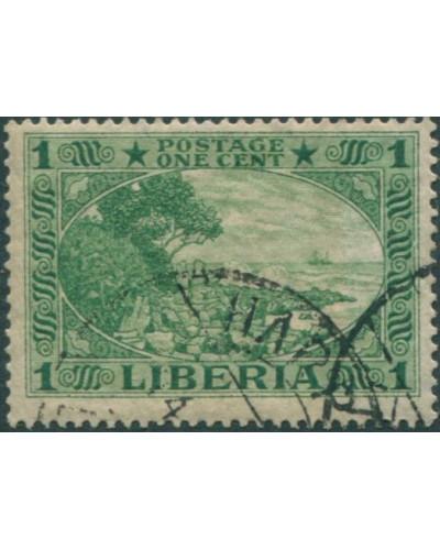 Liberia 1970 SG402 1c Cape Mesurado FU